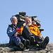 Gemeinsames Gipfelglück auf dem Urtticohkka