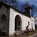 Kapelle San Bernardo über der Siedlung San Bernardo