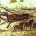Lascaux: vacca e cavallini. (photo Office Departementale de Tourisme de la Dordogne)