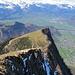 Schöner Tiefblick ins Sarganserland
