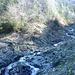 Am Zusammenfluss des Birchner Baches(?) und des Guscha Baches(?). Diese beiden Brücken ließen wir links liegen. Der Bach wurde über das Brückchen rechts oben gequert.