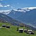 Die Hütten von Niiwärch, Föhnwalze über den Alpen