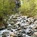 Wasserfall des Ri di Dentro bei Aurigeno
