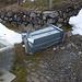 Der Schnee hat der Alp Bargella schwer zugesetzt