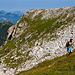 Wir erreichen den beliebten Wanderweg vom Schneibstein zum Seeleinsee – noch ist es einsam…
