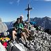 Auf dem Gipfel des Steintalhörnls