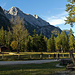 Wieder im Klausbachtal, direkt nach der Lahnwaldbrücke