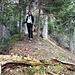 unterwegs auf dem einsamen Westgrat zum einsamen Gaßler Berg