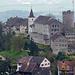 Regensberg, vom Aufstieg zur Hochwacht betrachtet.