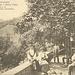 """<b>La Cascina d'Armirone in una cartolina del 1910.<br />La Cascina d'Armirone è un'alpe già citata nel 1548. L'antica denominazione era Cascina di Marmirono. La famiglia Piotti vi abitò per almeno due secoli, tanto che nei documenti d'epoca vengono sempre identificati quali Piotti della Cassina. Il 29 giugno 1751 il prevosto Giovan Battista Maderni da Capolago benedisse la chiesetta che lui stesso aveva fatto costruire """"per dar comodo di messa a quegli alpigiani"""". Nella seconda metà dell'Ottocento, anche per lo sfiorire dell'economia alpestre, Carlo Pasta decise d'investire in ambito turistico e di costruire sul Monte Generoso due alberghi, uno alla Bellavista e uno in Vetta. Stimolata dal suo esempio, la famiglia Chiaverio decise quindi di aprire un'osteria con alloggio presso la Cascina d'Armirone. Differenziandosi dalle altre strutture presenti sulla montagna in materia di prezzi, proponendo un servizio nostrano molto cordiale, l'osteria con alloggio divenne da subito molto popolare. L'attività dell'esercizio è quindi proseguita con successo fin verso il 1970. Nel 1979 sia l'osteria che l'annesso insediamento agricolo furono demoliti. Dell'antico agglomerato rimangono solo i tigli, gli aceri e l'oratorio dedicato a Maria Vergine Assunta, restaurato nel 2009 su progetto dell'architetto Fosco Moretti di Balerna.</b>"""