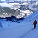 Forcella di Mesdi (Odle, Dolomites) : derniers lacets sous le col