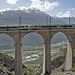Lötschberger auf dem Lüegelchi-Viadukt