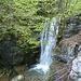 Wasserfall in der Tüfelsschlucht