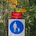 """Oho... doch noch Ägschen (-: Aber Achtung, obwohl mit Hohtenn angeschrieben, ist das Südrampenweg Symbol """"Richtung rechts"""" ..."""