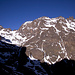 Die Kette westlich der Toubkal-Hütte, aufgenommen kurz nach dem Start zum Gipfel.