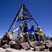 Unser Gruppenbild am Toubkal-Gipfel.