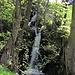 Wasserfall als Ganzes