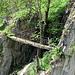 Brücke über die Schlucht