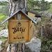 Auf der Bütziflue mit dem Gipfelbuchkasten und der Wetterstation auf der Seite. Sehr schön gemacht!