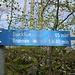 Für 5min Weg ein Angabe auf dem Schild.. :-S