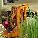 Ein Miniwasserrad in Aktion