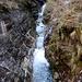 Il torrente della Val Carecchio verso monte