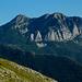 Monte Corchia visto da nordovest