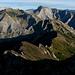 la cresta da me percorsa da Fociomboli al centro della foto,dietro le meravigliose Apuane...