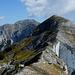 verso la vetta del monte Corchia...