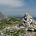 vetta del monte Corchia...