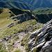 il versante est del monte Corchia...
