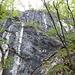 Formazioni rocciose lungo il sentiero.