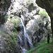 Cascata presso le grotte di Valganna.