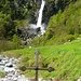 Der bekannte Wasserfall von Foroglio