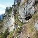 Der Aufstieg führt über den schönen Kramersteig