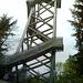 Ziel erreicht: auf dem Gipfel der Platte steht der 50m hohe hölzerne Oberpfalzturm.