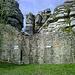 Schießscharte an der südlichen Mauer