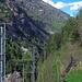 Bahntrassee, Wanderweg  und Embd