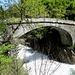 die alte Brücke über die Simme  ...