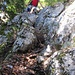 im Abstieg vom Hinterhorn