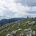 Grosszügiges Gipfelplateau, inkl. 360 Grad Panoramakarte, welche es zu studieren gilt