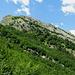 scendendo a Puntato,uno sguardo indietro sul monte Freddone...