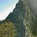 il punto chiave della cresta ovest del monte Freddone....