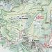 cartina della zona del monte Freddone..