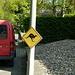 Känguru-Warnung in Doveren. Scherzkekse gibt´s überall!