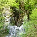 Hochwassersperre oberhalb Brione