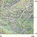 Carta Nufenenpass 1947 agg. 1961 che ancora riporta il sentiero tra il Monte di Dentro e il Corte di Fondo