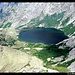 Lac de Melo vom Aufstieg zum Lac de Capitello, Rotondo-Massiv, Korsika, Frankreich