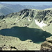 Lac de Bellebone vom Monte Renoso, Rotondo-Massiv, Korsika, Frankreich