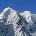 Das Nesthorn. Es ist weder vom Talboden im Lötschental noch von der Anenhütte aus sichtbar. Da muss man schon weiter rauf, dafür.